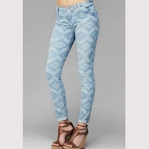 7 for all Mankind Aztec skinny jeans